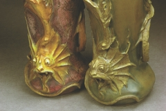 Two Dragon Vases, Model #4537