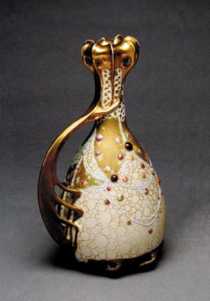 Klimt Vase, Model #3317