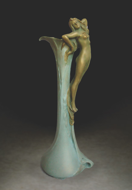 Vase with Maiden, Model #4645