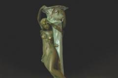 Figural Candlestick, Model #4753/9